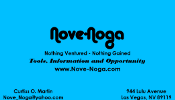 Business Card Nove-Noga